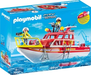 Barco de Bomberos de Playmobil