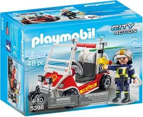 Coche de Bomberos Aeropuerto - Playmobil