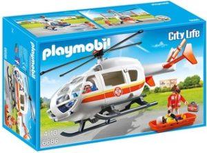 Helicóptero Médico de Emergencia - Playmobil