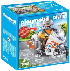Moto médica - Playmobil