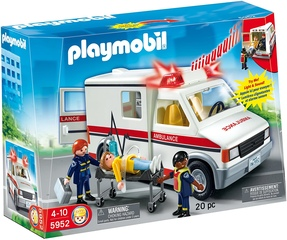 Ambulancia con luces y sonido - Playmobil