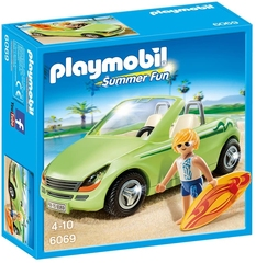 Surfista con Coche descapotable - Playmobil