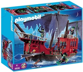 Barco Pirata Fantasma - Playmobil