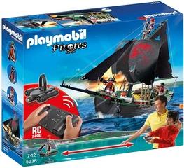 Barco Pirata con Control Remoto - Playmobil