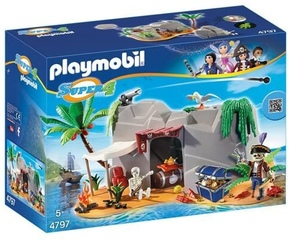 Cueva Pirata - Playmobil