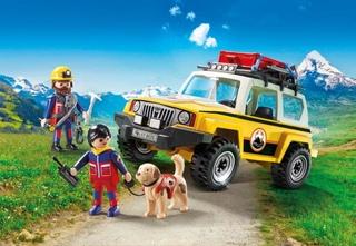 Vehículo de Rescate de Montaña - Playmobil