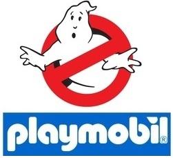 logo cazafantasmas - Playmobil