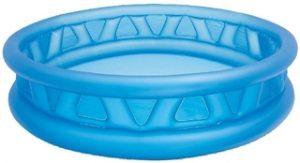 Piscina hinchable de relieve azul